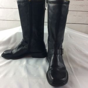 Matisse Womens Black Leather Motorcycle Style Boot
